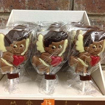 Get Your Chocolate Cupid Lollipop at Precious Petals Flower Shop in Dublin