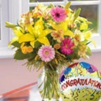Get Your Congratulations Arrangement at Precious Petals Flower Shop in Dublin