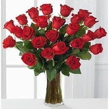 Get Your 20 Luxury Red Roses Flower Arrangement at Precious Petals Flower Shop in Dublin