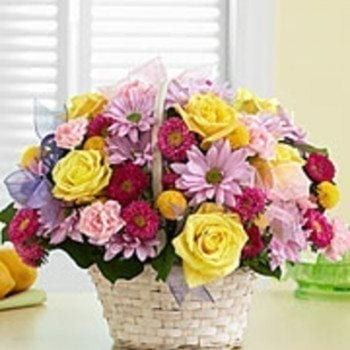 Basket Of Choice by Precious Petals Florists