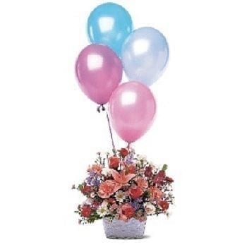Birthday Bonanza by Precious Petals Florists
