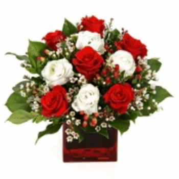 Blushing by Precious Petals Florists