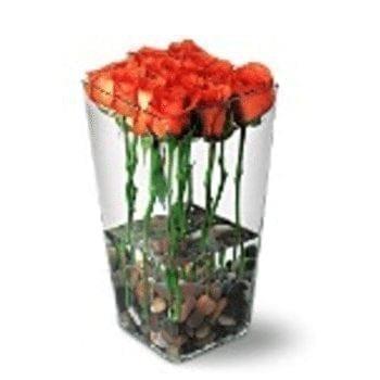 Get Your Flame Flower Arrangement at Precious Petals Flower Shop in Dublin