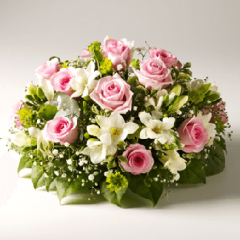 Peaceful Rest Funeral Flowers by Precious Petals Florists