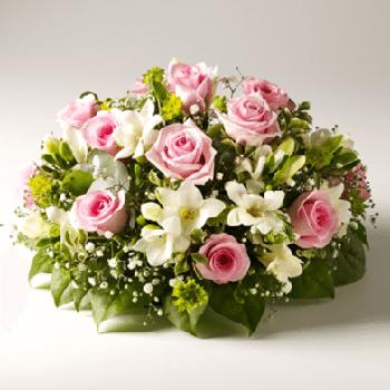 Get Your Peaceful Rest Funeral Flowers Arrangement at Precious Petals Flower Shop in Dublin