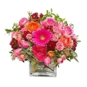 Get Your Pink Wonder Flower Arrangement at Precious Petals Flower Shop in Dublin