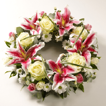 Sorrow Funeral Flowers From Precious Petals Florists