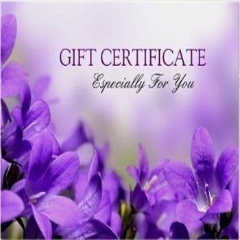 Floral Gift Certificate - Precious Petals Florists