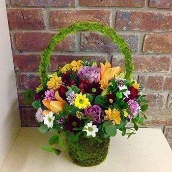 Hannah's Basket by Precious Petals Florists