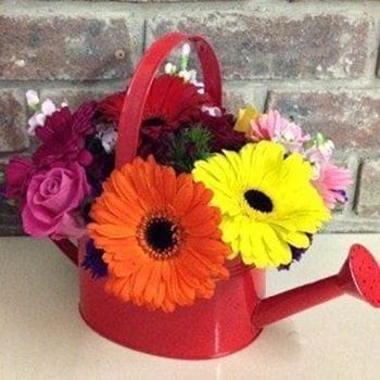 Get Your Watering Can Flower Arrangement at Precious Petals Flower Shop in Dublin