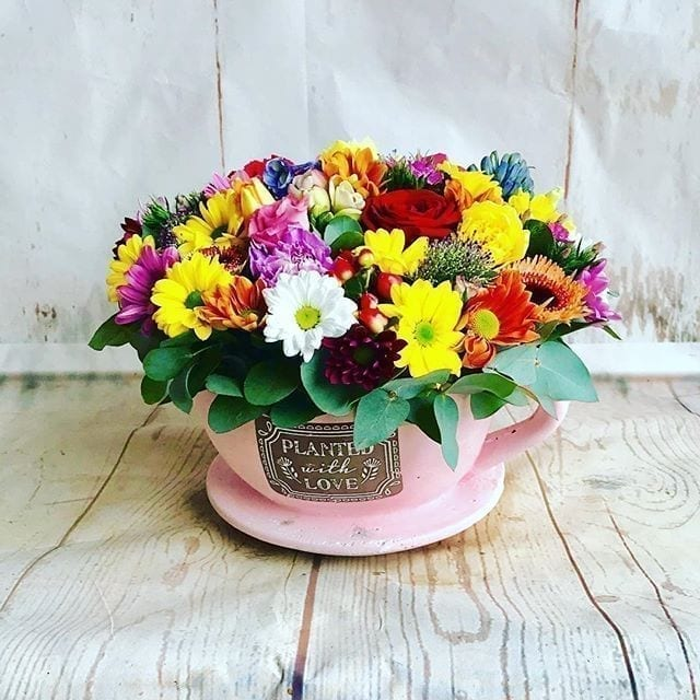 Get Your Tea Time Bouquet at Precious Petals Flower Shop in Dublin