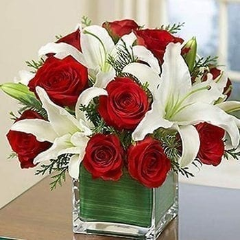 Get Pure Love Flower Arrangement at Precious Petals Flower Shop in Dublin