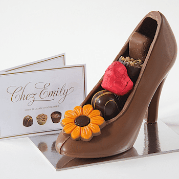 Handmade Chocolate Stiletto - Precious Petals Florists
