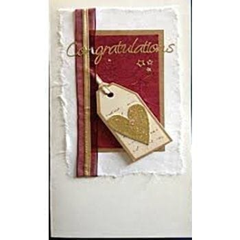Handmade Congratulations Card - Precious Petals Florists