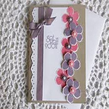 Handmade Get Well Soon Card - Precious Petals Florists