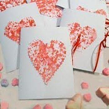Handmade Romantic Card - Precious Petals Florists