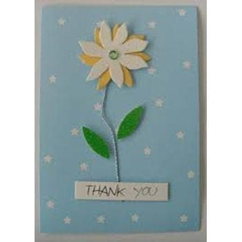 Handmade Thank You Card - Precious Petals Florists