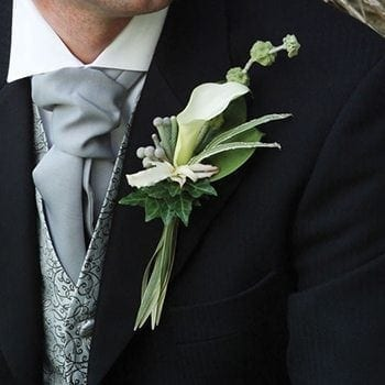 Buttonholes by Precious Petals Florists