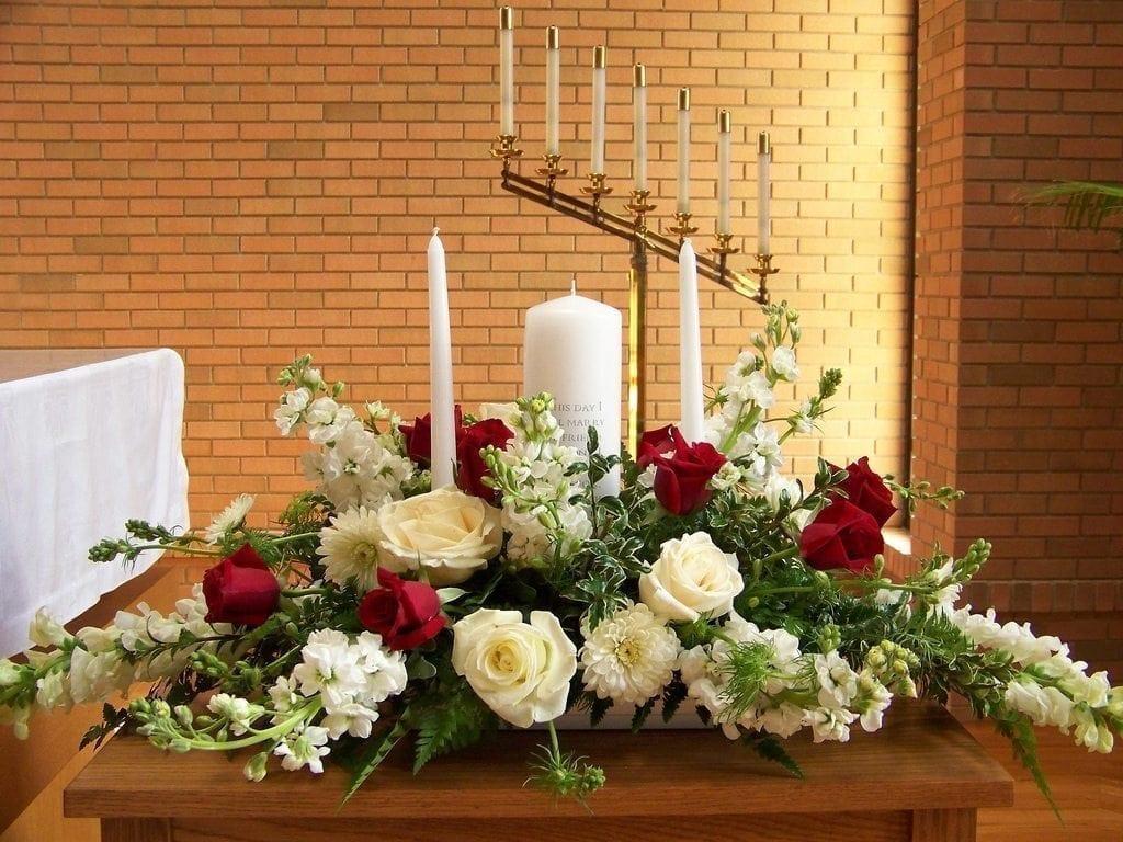 Get Your Unity Candle Arrangement at Precious Petals Flower Shop in Dublin