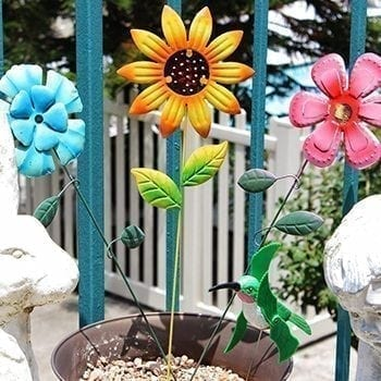 Metal Flower Sticks - Precious Petals Florists