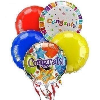 Congratulations Balloons - Precious Petals
