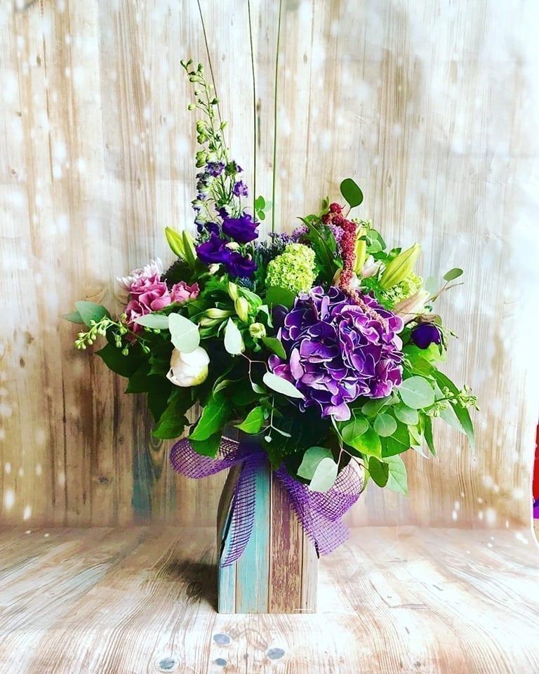 Get Your Bohemian Flower Bouquet at Precious Petals Flower Shop in Dublin