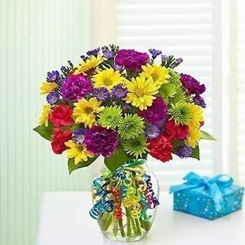 Floral Burst Bouquet - Precious Petals Florists
