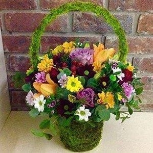 Get Your Hannahs Basket Flower Arrangement at Precious Petals Flower Shop in Dublin