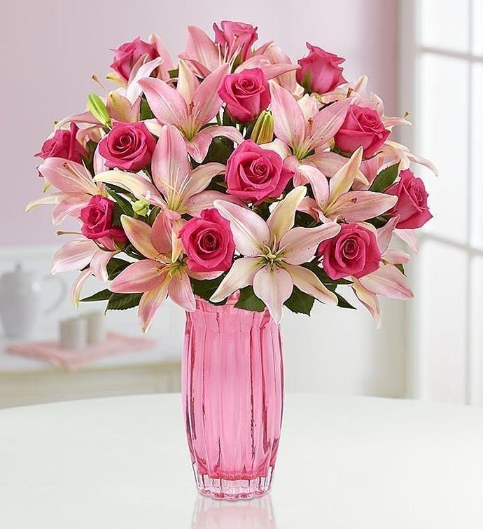 Get Your Perfect Pinks Flower Arrangement at Precious Petals Flower Shop in Dublin