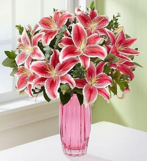 Get Your Pink Passion at Precious Petals Flower Shop in Dublin