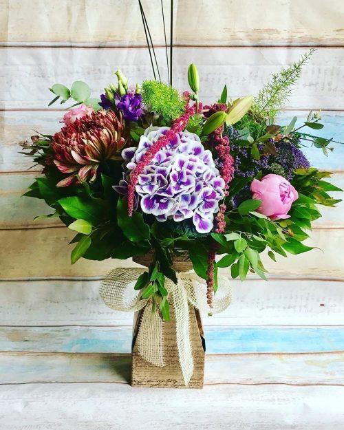 Soho Bouquet, Floralbox Vase